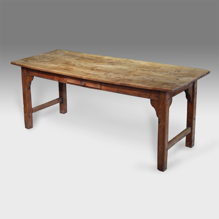 Antique Refectory Table French Kitchen Oak Dining Uk Mahogany Cottage Break Fast Breakfast
