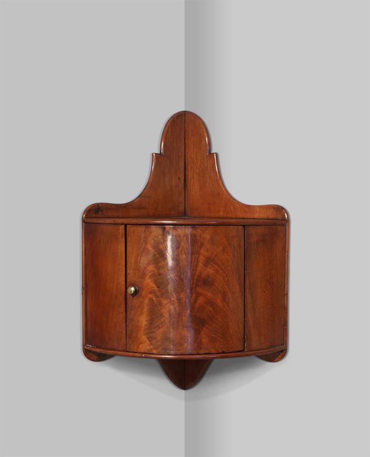 Small Antique Corner Cupboard 19th, Corner Cabinet Furniture