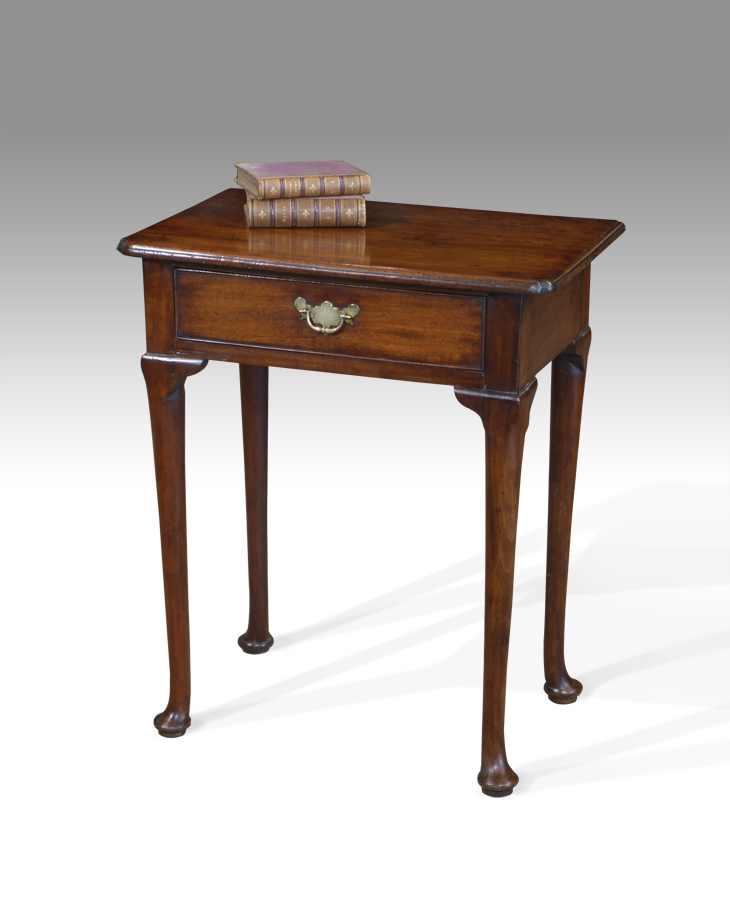 Small Antique Side Table Lowboy, Antique Lamp Tables