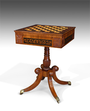 Antique games table - £ 2850