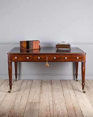 Antique library table - £ 6400