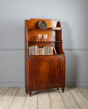 Antique waterfall bookcase - £ 1780