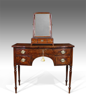 Bowfront dressing table - £ 2100