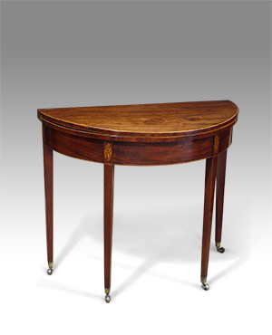 Demi lune card table - £ 1500