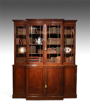 Georgian library bookcase - £ 7600