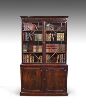 Georgian library bookcase - £ 4500