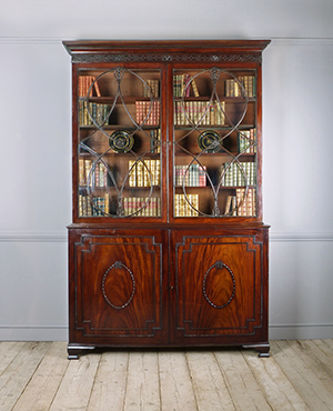 Georgian library bookcase - £ 8500