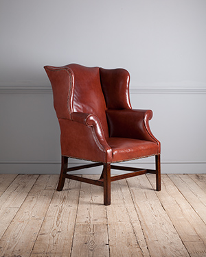 Georgian wing arm chair - £ 1950