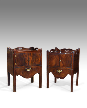 Near pair of Georgian commodes - £ 2500