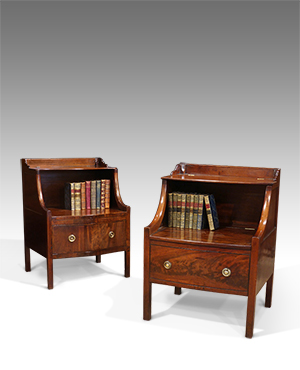 Near pair of Lancashire commodes - £ 2650