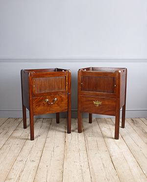Pair of antique bedside cupboads - £ 2580