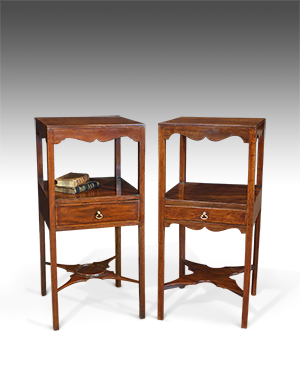 Pair of antique bedside tables - £ 1540
