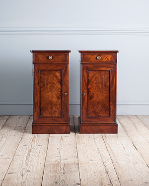 Pair of antique bedside tables - £ 2600