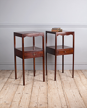 Pair of antique bedside tables - £ 1580
