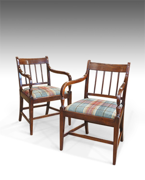 Pair of carver chairs - £ 1450