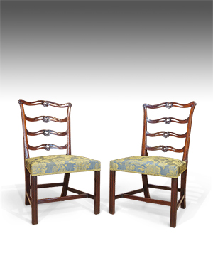 Pair of Chippendale chairs - £ 1540