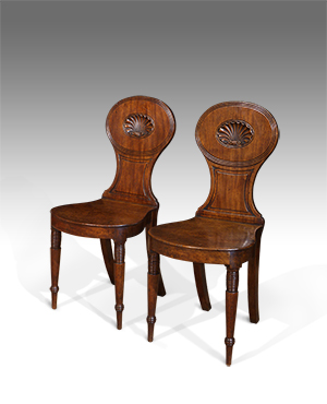 Pair of hall chairs - £ 1850
