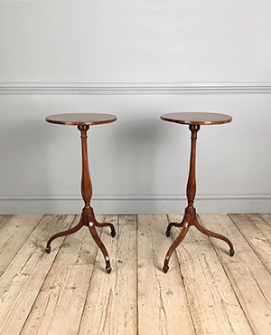 Pair of tripod tables - £ 2350