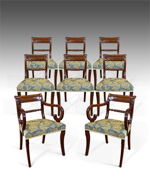 Regency dining chairs - £ 4800