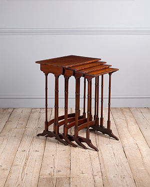 Nest of tables - £ 2200