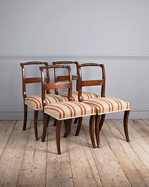 Set of 4 regency dining chairs - £ 2200