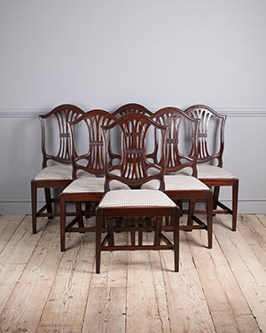 Set of 6 Georgian dining chairs - £ 2700