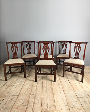 Set of 6 Georgian dining chairs - £ 2950