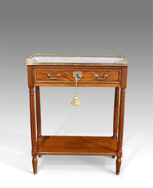 Small marble top console table - £ 1750
